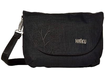 Haiku Bliss (Black Morel) Handbags