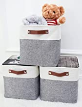 MeCids Cube Storage Bins - Storage Cube Fabric Storage Baskets - Collapsible Organizers and Storage for Closet Shelves, To...