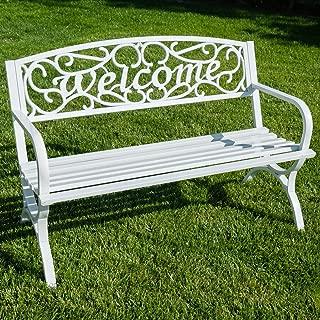 Belleze Outdoor Park Bench 50