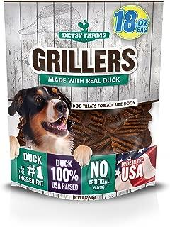 Betsy Farms Duck Grillers Dog Jerky Treats, 18 Oz Duck Jerky Treats For Dogs