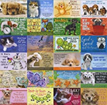 Pass It on Inspirational and Uplifting Message Cards with Scripture - Package of 24 Assorted Cards (Animals)