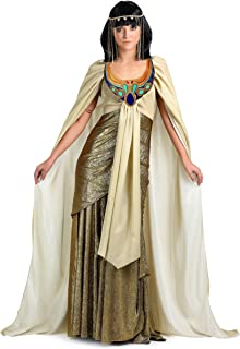 Women's Queen of The Nile Costume Plus Size Golden Cleopatra