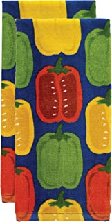 T-fal Textiles Kitchen Towel, 2 Pack, Peppers