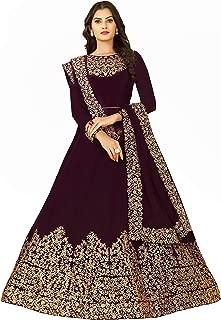 FKART Women's Georgette Salwar Suit Material