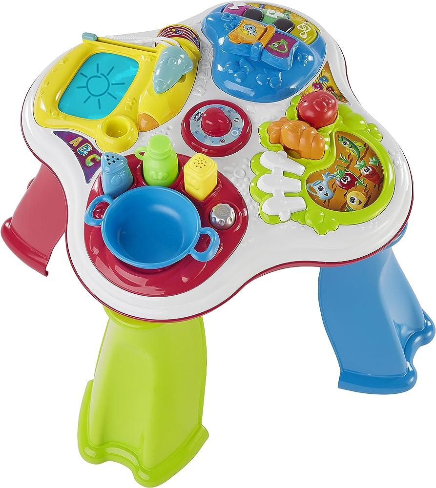 Chicco - gioco tavolo cresci e impara, bilingue, 1-4 anni 00007653000000