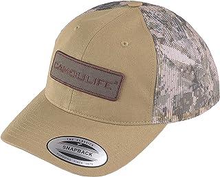 YourStyle USA Baseball Hat Cap – Camoulife Trucker Flat Bill Embroidery Adjustable Snapback Headwear Unisex Women Men