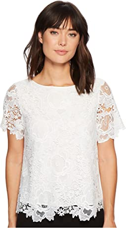 Cassie Lace Tee