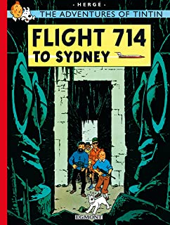 The Adventures of TinTin Flight 714 to Sydney by Herge - Paperback