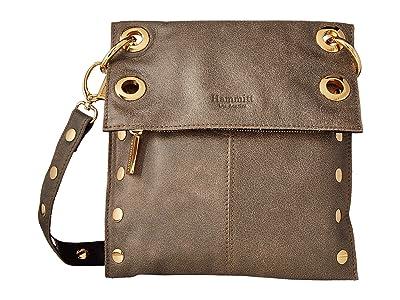 Hammitt Montana Rev Medium (Black/Pewter/Gold) Cross Body Handbags