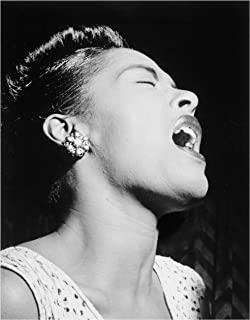 Photo Art Print ~ Famous Historic Picture: BILLIE HOLIDAY (11
