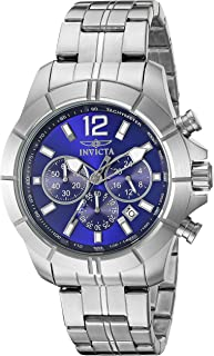Invicta Men's 21464 Specialty Analog Display Japanese Quartz Silver Watch
