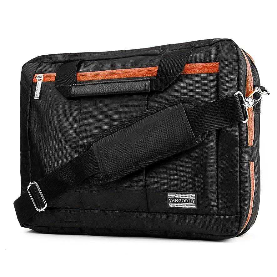 VanGoddy 3-in-1 Orange Trim Hybrid Laptop Bag for Lenovo Flex/ThinkPad / IdeaPad/Legion / Yoga 14