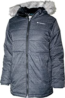 Columbia Youth Girls Arbor Cove Mid Hooded Omni Heat Insulated Jacket