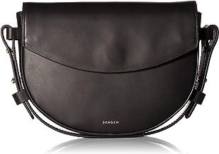 Skagen VL19 Flap Synthetic Leather Checkbook Wallet Organizer Clutch Blue Fog