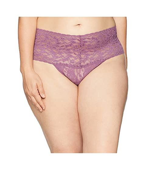 7973ea0f1 Hanky Panky Plus Size Signature Lace Retro Thong at 6pm