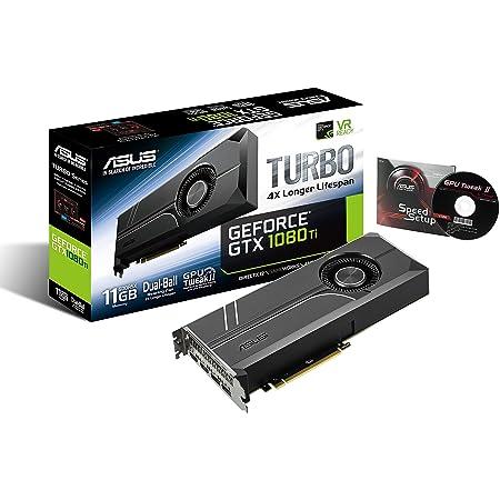 ASUS Turboシリーズ NVIDIA GeForce GTX1080TI搭載ビデオカード ベースクロック1480MHz TURBO-GTX1080TI-11G