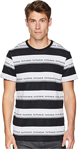 Worldwide Stripe Short Sleeve Knit