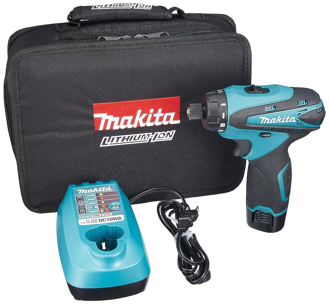 これら支店欲望マキタ(Makita)  充電式ドライバドリル 10.8V 本体付属バッテリー1個搭載モデル DF030DWSP