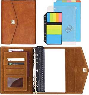 SynLiZy A5 PU Leather Personal Organizer Undated Planner (A5 Gray) 7.48