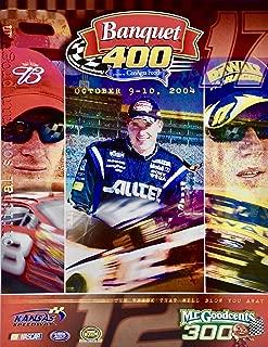 2004 - NASCAR/Nextel Cup Series - Kansas Speedway - Banquet 400 Official Race Program - w/Vinyl Cover w/Track Logo - Rare - Collectible