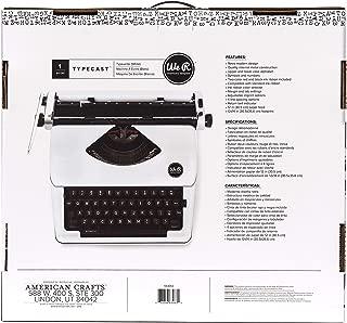 Typecast Retro Typewriter by We R Memory Keepers   White