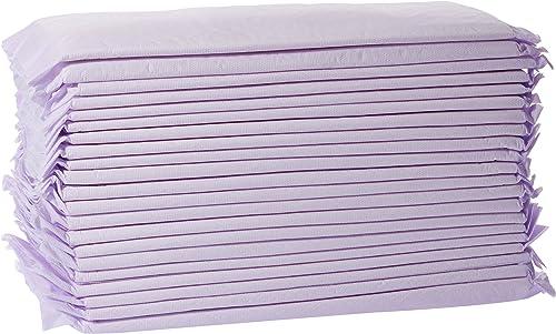 AmazonBasics Cat Litter Box Pads - Pack of 40, Fresh Scent