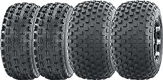 Set of 4 WANDA Sport ATV tires 22x7-10 & 22x11-10 for 1999-2004 Yamaha Bear Tracker 250