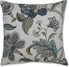 Pillow Perfect Finders Keepers Throw Pillow, 18-Inch, Blue
