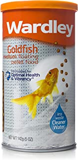 Wardley Goldfish Medium Floating Pellet Food - 5 oz, Browns
