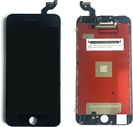 ad7be34b7 Black LCD For iPhone 6S Plus Screen Replacement Kit Digitizer Touch Screen  Display Assembly With 3D