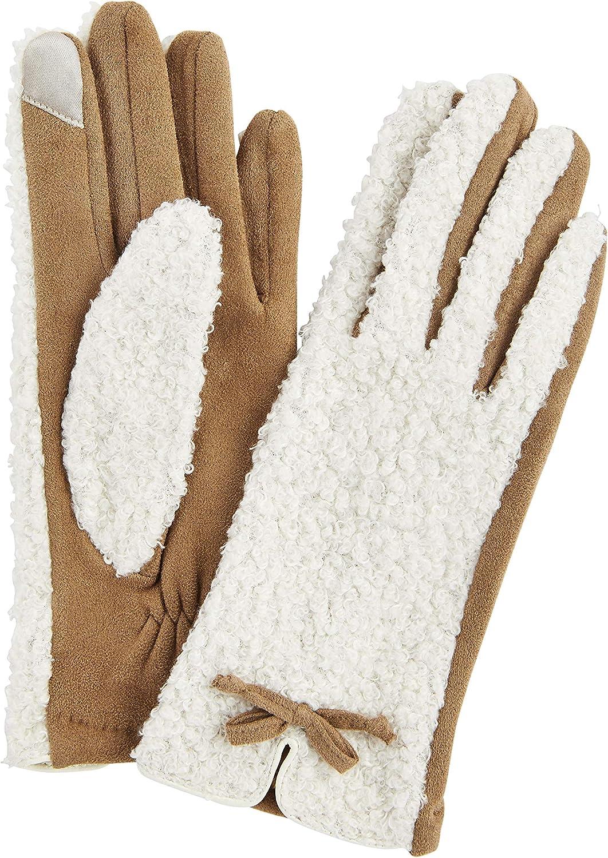 Mud Pie womens Sherpa Glove