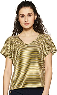 c0d0d32dbed4 Yellows Women's T-Shirts: Buy Yellows Women's T-Shirts online at ...