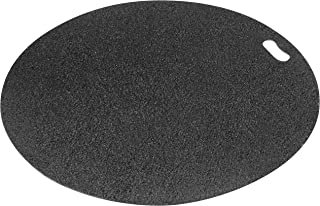Diversitech Original Grill Mat - BBQ Floor Mat - Put Under Gas Grill, Fryer, Fire Pit - Protects Decks and Patios - 30 Inches - Round - Gray