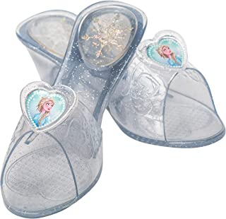 Rubie's, scarpe ufficiali Disney Frozen 2, Elsa Jelly Shoes Onesize, costume e vestire Roll Play età 3+