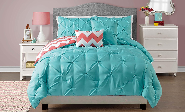 VCNY Home Jane Reversible 5 Piece Save money Quality inspection Bedding Set Full Qu Comforter