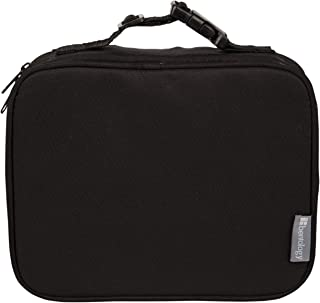 Portion Perfect Insulated Sleeve by Bentology - For Bento Box Lunchbox - Black
