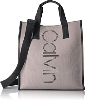 Calvin Klein Eden Knit North/South Vertical Branding Tote