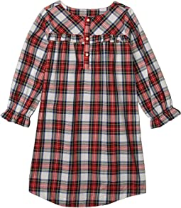 White Out Plaid/Red/Navy Plaid