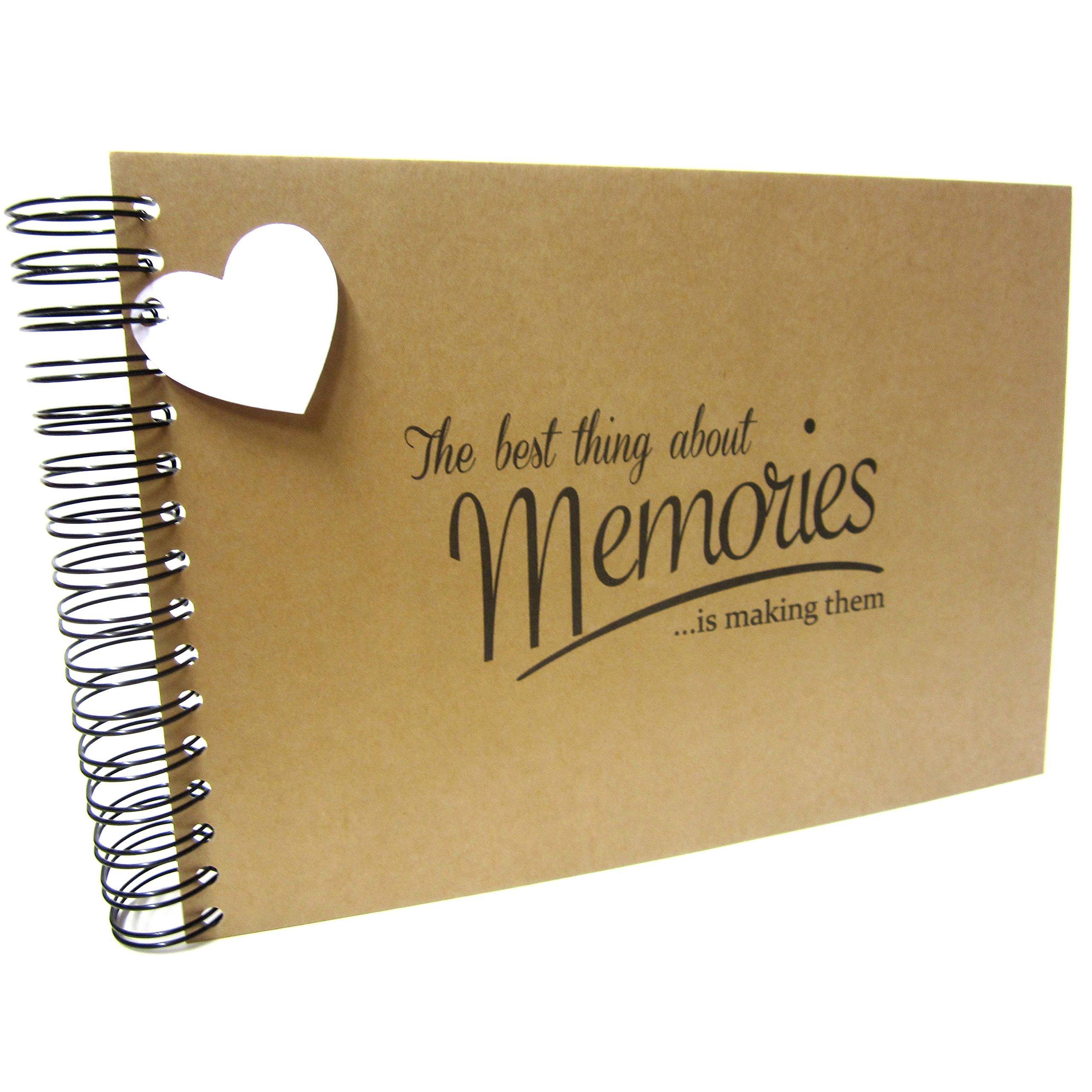 A5  Best Memories Photo Album Birthdays Book Card Pages Scrapbook Keepsake
