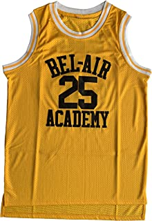 Will Smith #14 The Fresh Prince of Bel Air Academy #25 Carlton Banks Basketball Jersey