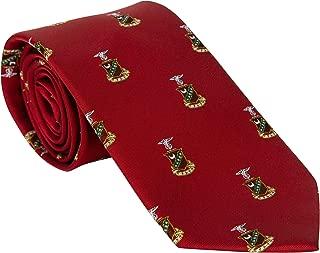 Kappa Sigma Fraternity Necktie Tie Greek Formal Occasion Standard Length Width Kappa Sig (Repeating Crest Necktie)
