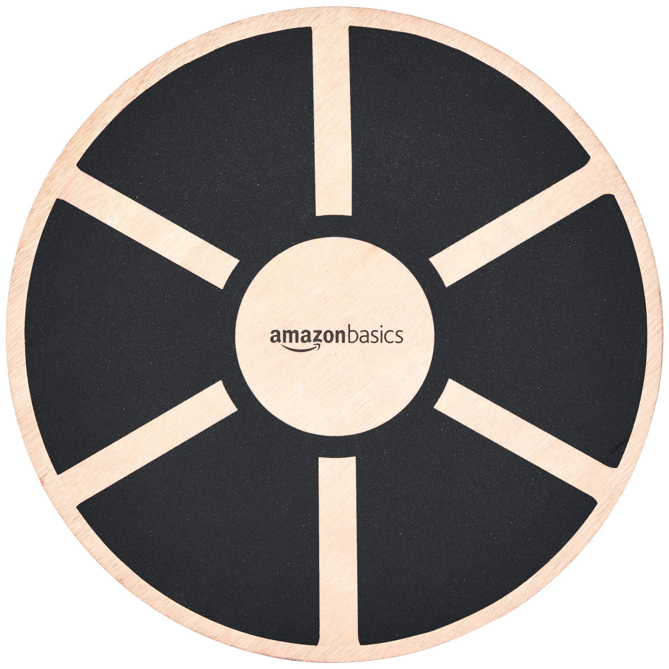 AmazonBasics Wobble Balance Board Black