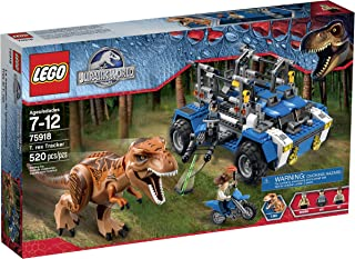 LEGO Jurassic World T. Rex Tracker 75918 Building