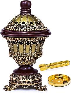 AM Incense Burner Frankincense Resin - Luxury Chalice (Bronze)