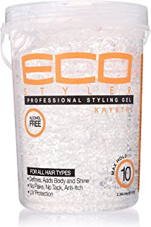 ECOCO Eco Style Gel, Clear, 80 Ounce (I0107755)