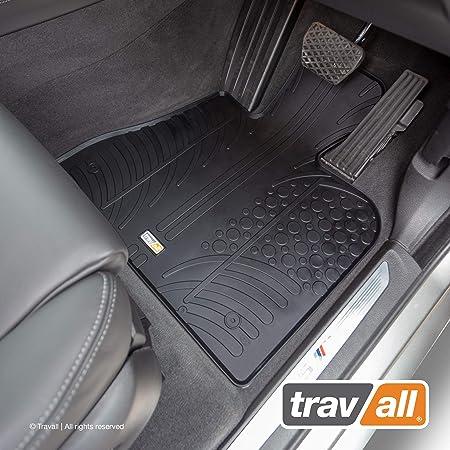 4 Piece Set Carsio Tailored Black Carpet Car Mats for BMW X5 F15 2013-2018