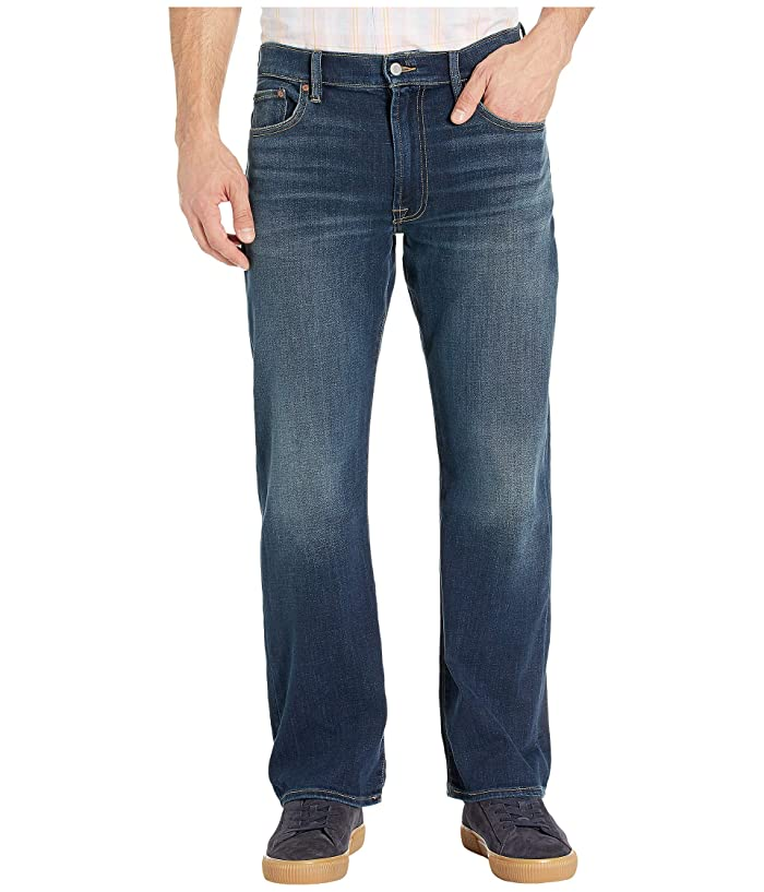Lucky Brand  181 Relaxed Straight Jeans in Balsam (Balsam) Mens Jeans
