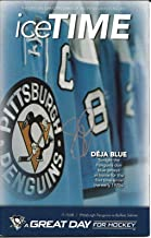 Sidney Crosby Pittsburgh Penguins NHL Signed Ice Time Game Program W/COA - Autographed NHL Magazines