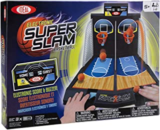 Ideal Electronic Super Slam Basketball Kids Tabletop Game