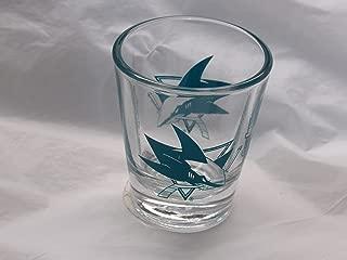 San Jose Sharks 2 oz Shot Glass with Team Logo and Name Boelter Brands